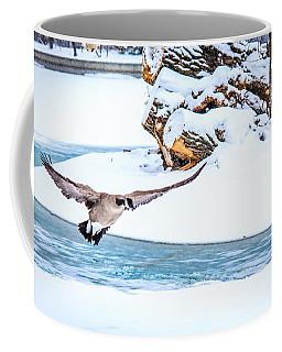 Snowy Canada Goose Coffee Mug