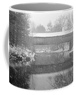 Snowy Crossing Coffee Mug