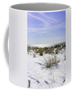 Snowy Dunes Coffee Mug