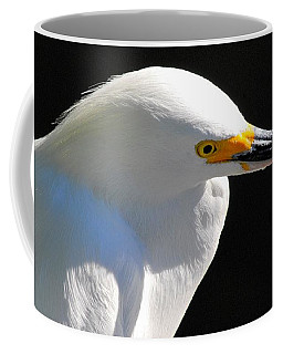 Snowy Egret Coffee Mug by Quinn Sedam