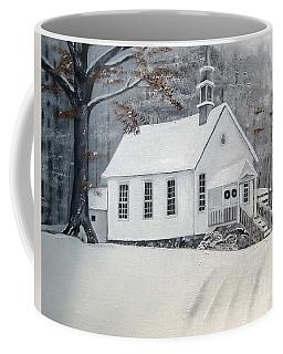 Snowy Gates Chapel  -little White Church - Ellijay Coffee Mug