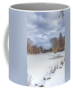 Snowy Lake Coffee Mug