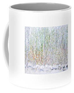 Snowy Landscape In New Hampshire Coffee Mug