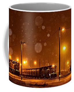 Snowy Night Coffee Mug