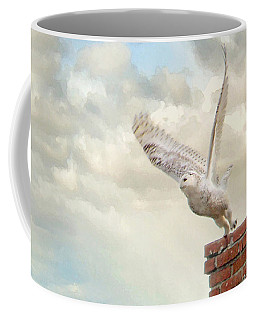 Snowy Owl Coffee Mug