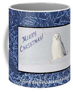 Snowy Season Coffee Mug by Dee Cresswell