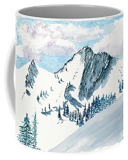 Snowy Wasatch Peak Coffee Mug