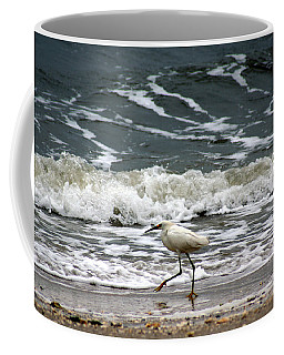Snowy White Egret Coffee Mug
