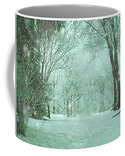 Snowy Winter Night Coffee Mug