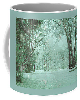 Snowy Winter Night Coffee Mug