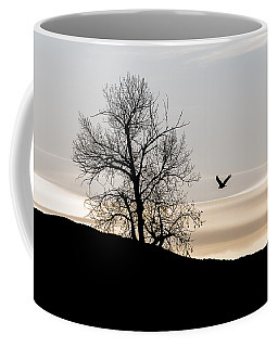 Coffee Mug featuring the photograph Soaring Eagle by Michael Chatt