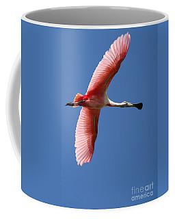 Soaring High Roseate Spoonbill Coffee Mug
