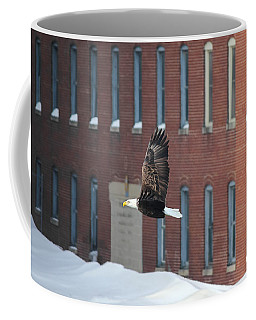 Coffee Mug featuring the photograph Soaring To Greatness by Viviana  Nadowski