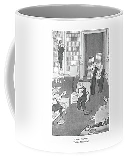 Social Menaces  The First-edition Fiend Coffee Mug