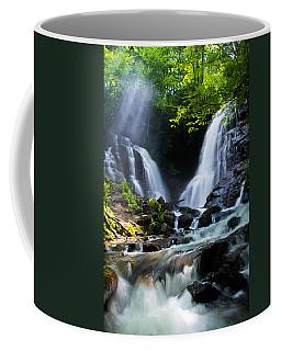 Coffee Mug featuring the photograph Soco Falls by Serge Skiba