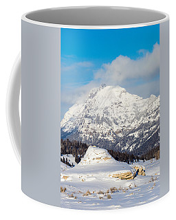 Coffee Mug featuring the photograph Soda Butte by Michael Chatt