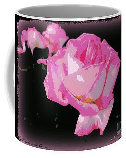 Coffee Mug featuring the photograph Soft And Delicate Pink Rose by Leanne Seymour