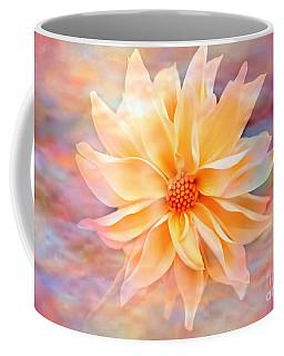 Coffee Mug featuring the photograph Soft Delightful Dahlia by Judy Palkimas