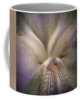 Soft Iris Flower Coffee Mug