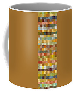 Soft Palette Rustic Wood Series Collage L Coffee Mug