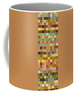 Soft Palette Rustic Wood Series Collage Lll Coffee Mug
