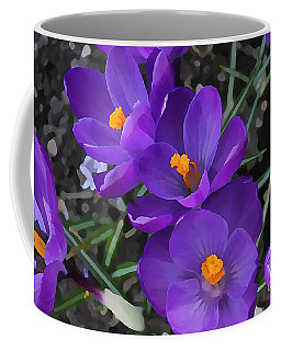 Soft Purple Crocus Coffee Mug