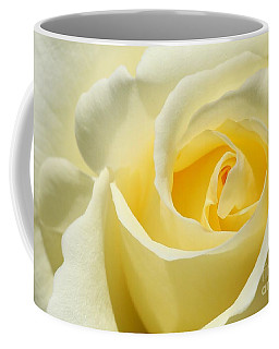 Soft Yellow Rose Coffee Mug