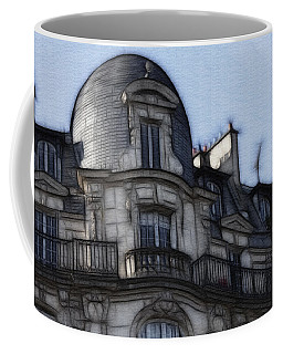 Softer Side Of Paris Architecture Coffee Mug
