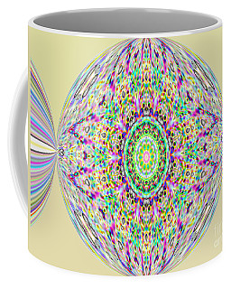 Softness. Art. Yellow Pink Design Coffee Mug