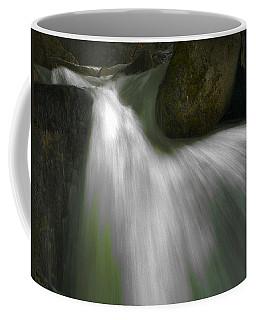 Softwater Of Cascade Creek Coffee Mug by Bill Gallagher