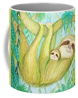 Soggy Mossy Sloth Coffee Mug by Nick Gustafson