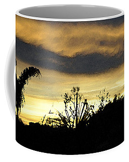 Coffee Mug featuring the digital art Solana Beach Sunset 3 by Kirt Tisdale