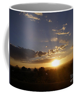 Solar Eclipse Sunset Coffee Mug