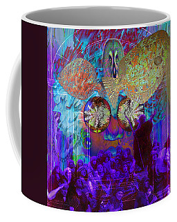 Release Of Solar Light Coffee Mug by Joseph Mosley