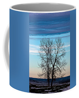 Coffee Mug featuring the photograph Soldier Creek Sunset by Michael Chatt