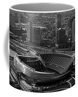Soldier Field Chicago Sports 05 Black And White Coffee Mug