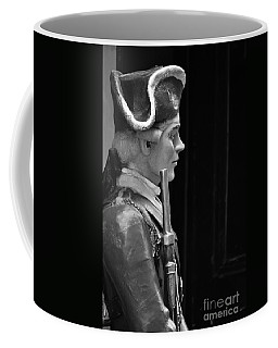 Soldier Statue Boston Ma Coffee Mug