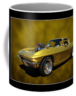 Coffee Mug featuring the photograph Solid Gold by Keith Hawley