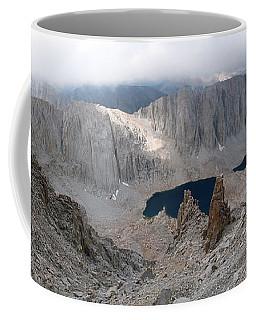 Solitary Hiker Panorama Coffee Mug