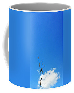 Solitude - Blue Sky Art By Sharon Cummings Coffee Mug