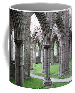 Coffee Mug featuring the photograph Solitude In Ruins by Stephanie Grant