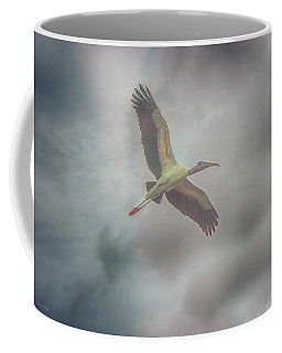 Coffee Mug featuring the photograph Solo Flight by Dennis Baswell