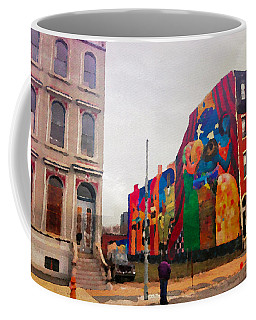 Some Color In Philly Coffee Mug