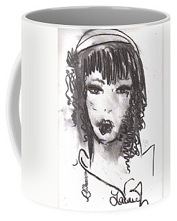 Coffee Mug featuring the drawing Someday In Paris by Laurie Lundquist