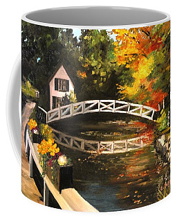 Somesville Maine Footbridge Coffee Mug