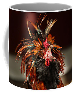 Coffee Mug featuring the photograph Something To Crow About by Lynn Sprowl