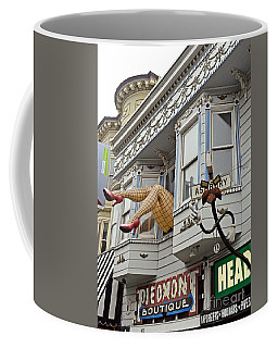 Something To Find Only The In The Haight Ashbury Coffee Mug by Jim Fitzpatrick