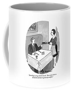 Something's Wrong With The Broccoli.  Please Take Coffee Mug