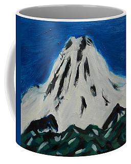 Somewhere Rainier Coffee Mug by David Trotter