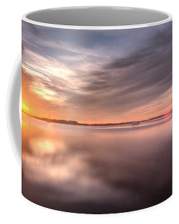 Somewhere Between That Setting Sun Coffee Mug